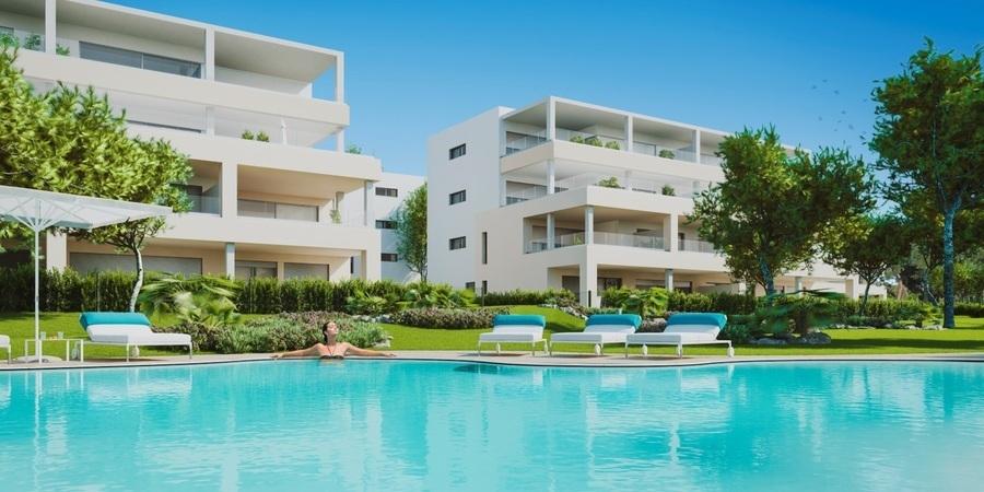 Underbar nybyggd lägenhet i Nova Santa Ponsa