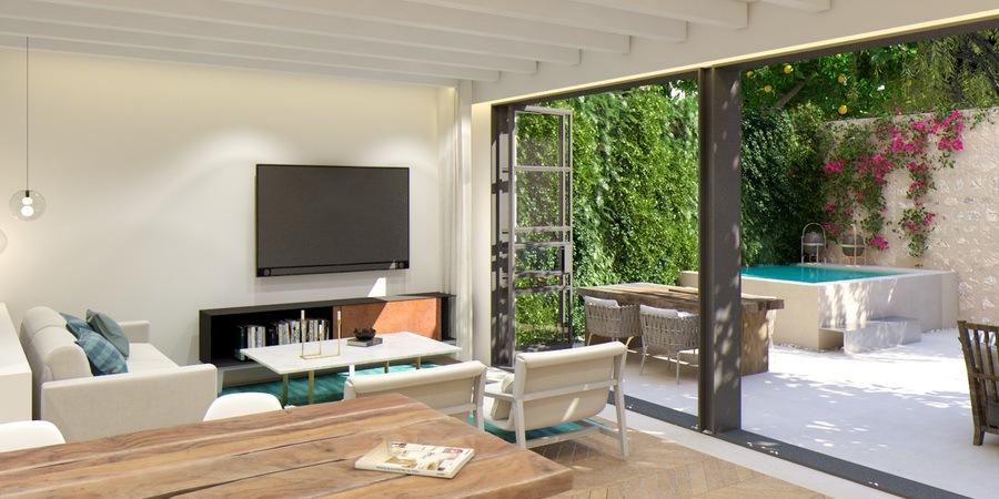 Apartamento de alta calidad con terraza y piscina en Santa Catalina