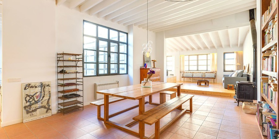 Spacious penthouse in the historic Palma Calatrava area