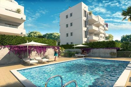 Newly built penthouse in Cala Dor