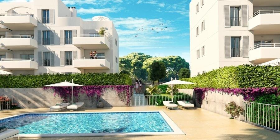 Newly built apartment in Cala Dor