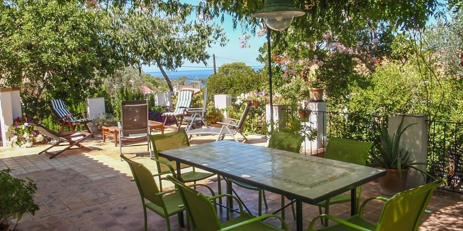 Mallorquin house with beautiful views in Banyalbufar