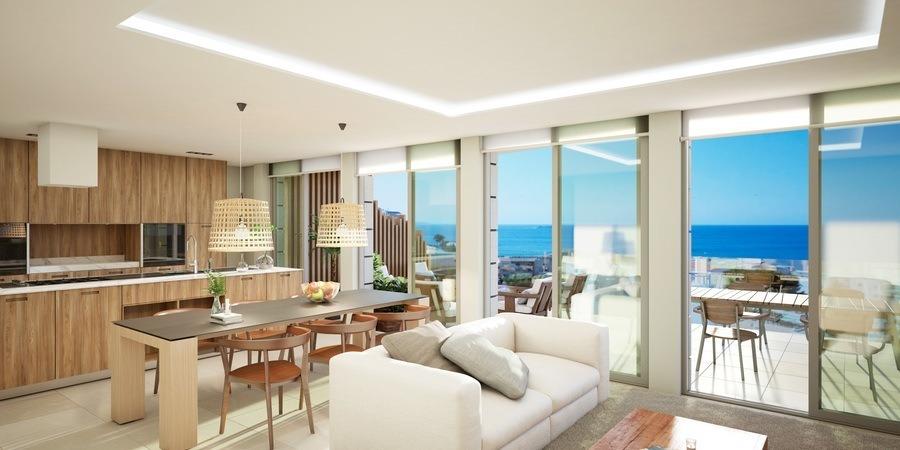 Erstklassige neue Wohnung in Cala Mayor