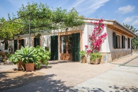 Trevlig lantgård nära Palma