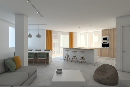 Potential investment spacious apartment in central Palma