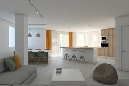 Potentiell investering i rymlig lägenhet i centrala Palma