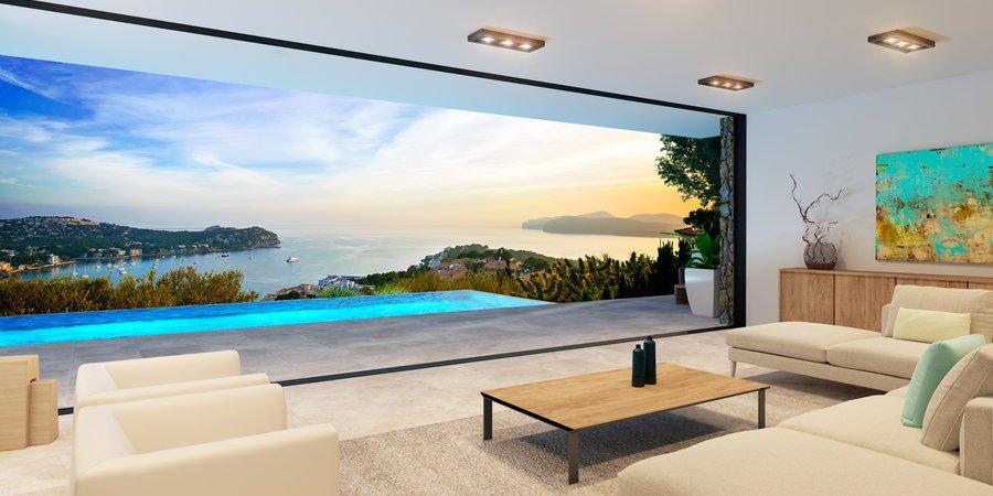 Parcela con impresionantes vistas al mar y licencia de obra en Costa de la Calma