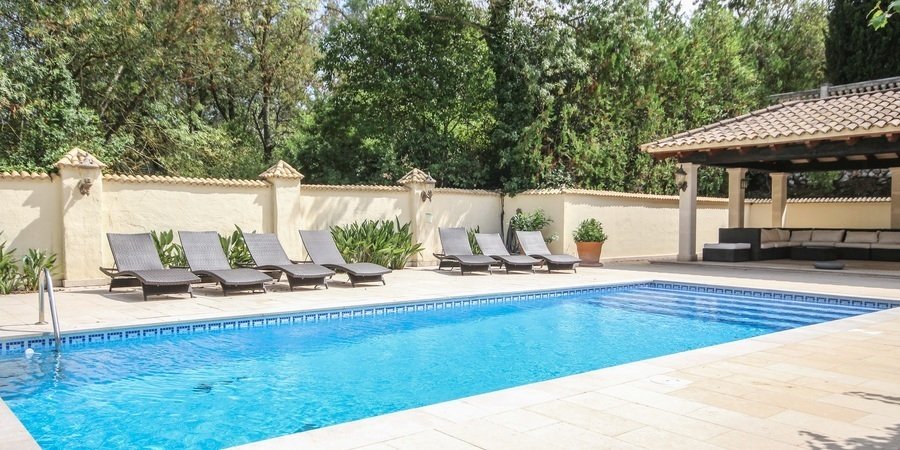 Beautiful secluded villa with spectacular mountain views in the outskirts of Puigpunyent
