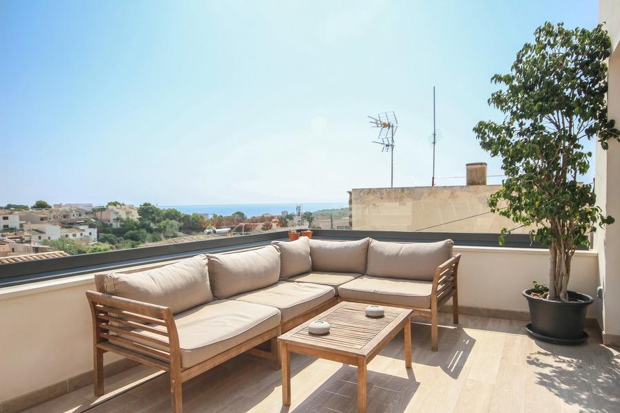 Genova Palma De Mallorca Top Renoviertes Haus Mit Dachterrasse Und