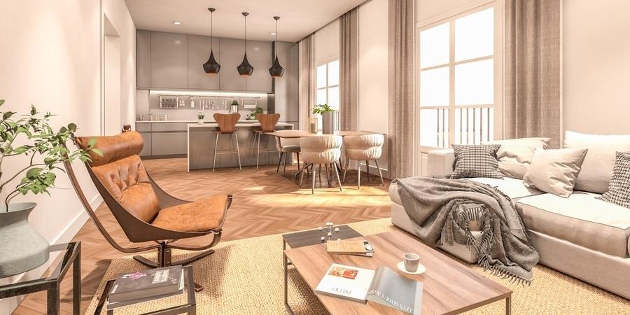 Contemporary city apartment in vibrant district el Terreno
