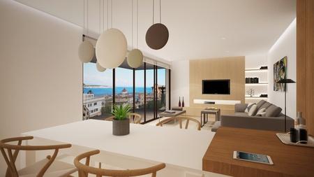 Nybyggd lägenhet med havsutsikt i San Agustin