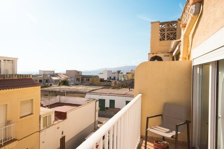 Lovely apartment near the beach with sea views in Molinar