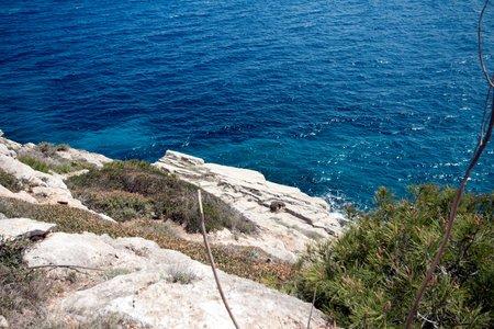 Plot by the sea in the Séstre dès Temps area in southeastern Mallorca