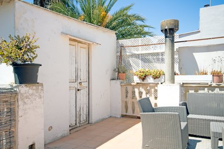 Fantastic project with roof terrace at the best location in Portixol