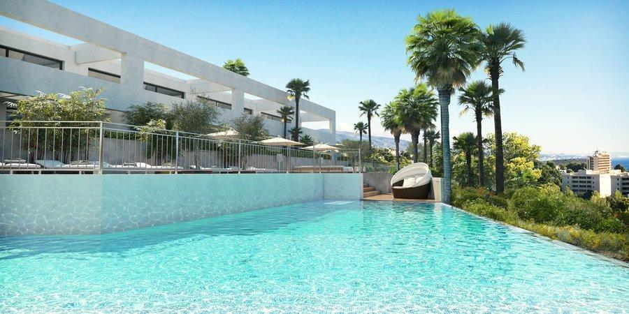 Fantastiskt nytt radhus med terrass, trädgård och havsutsikt i Cala Vinyes