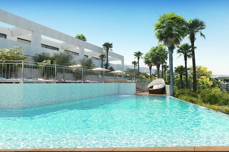 Beautiful newly built townhouse with terrace, garden and sea views in Cala Vinyes