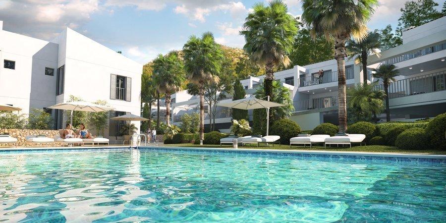 Härlig lägenhet med två sovrum nära Canyamel Beach