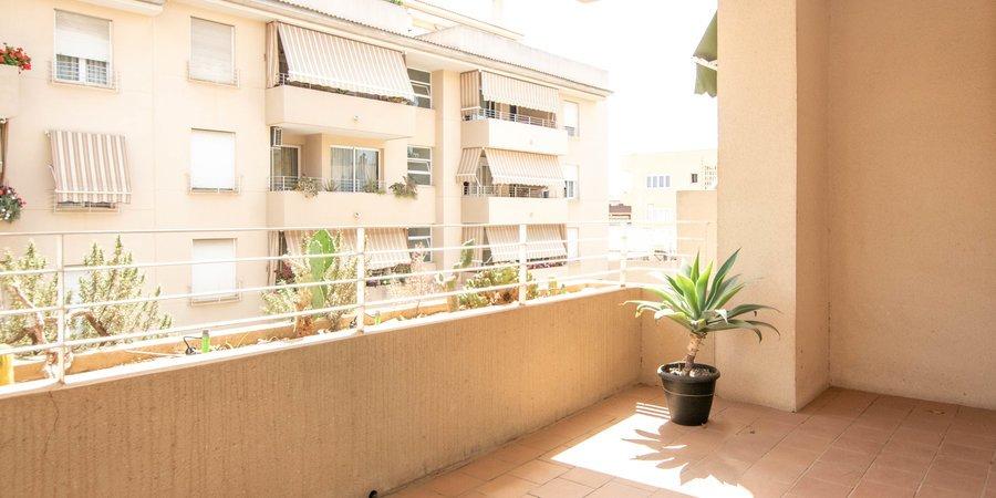 Komfortable Wohnung mit Lift, Terrasse und Parkplatz in Coll de Rabassa