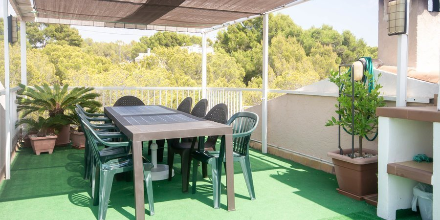 Lovely penthouse with nice views close to the beach in Santa Ponsa