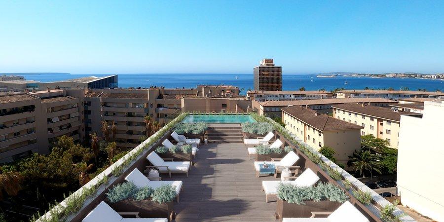 Neugebaute Gartenwohnung in der Nähe von Palmas Stadtstrand