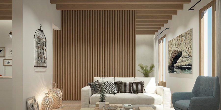 Fantastisk nyproducerad lägenhet med terrass i Santa Catalina