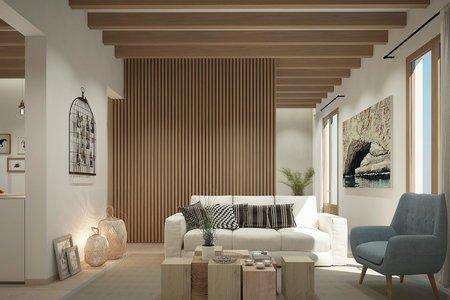 Increíble apartamento de nueva construcción con terraza en Santa Catalina