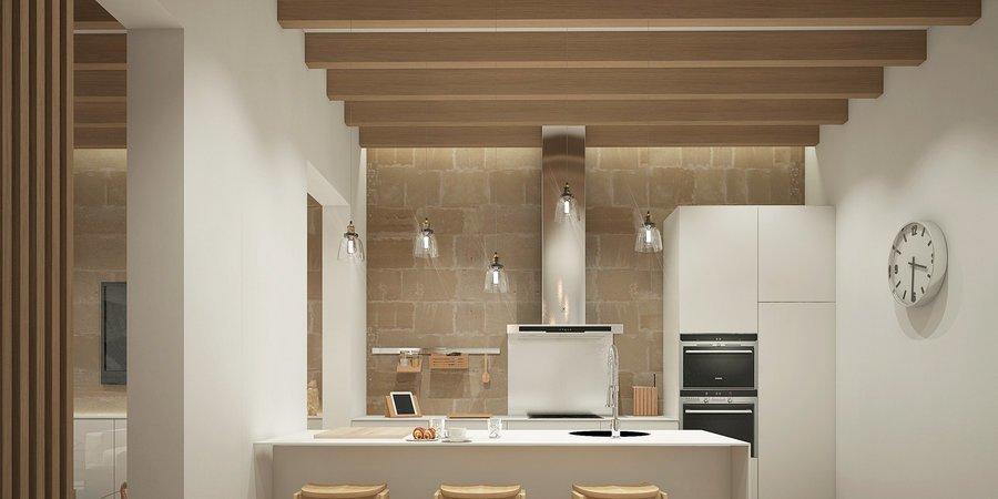 Fantastisk nybyggd lägenhet med terass i Santa Catalina