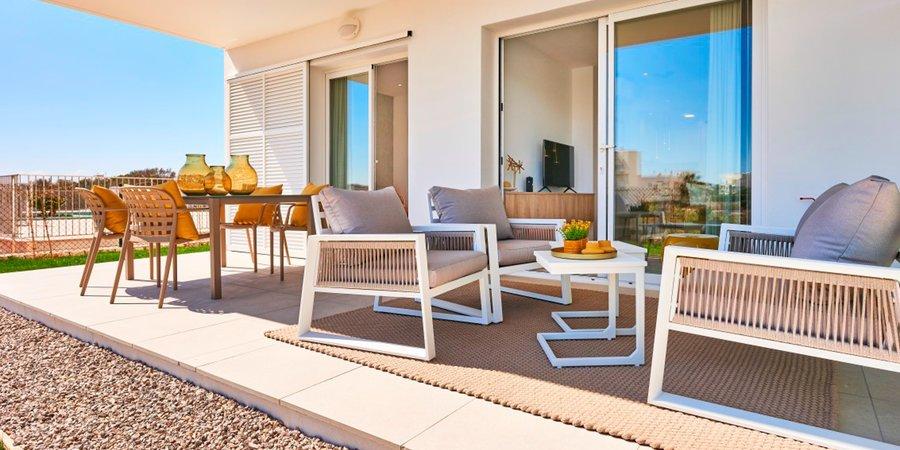 Maravilloso apartamento en planta baja con jardín en Cala d'Or