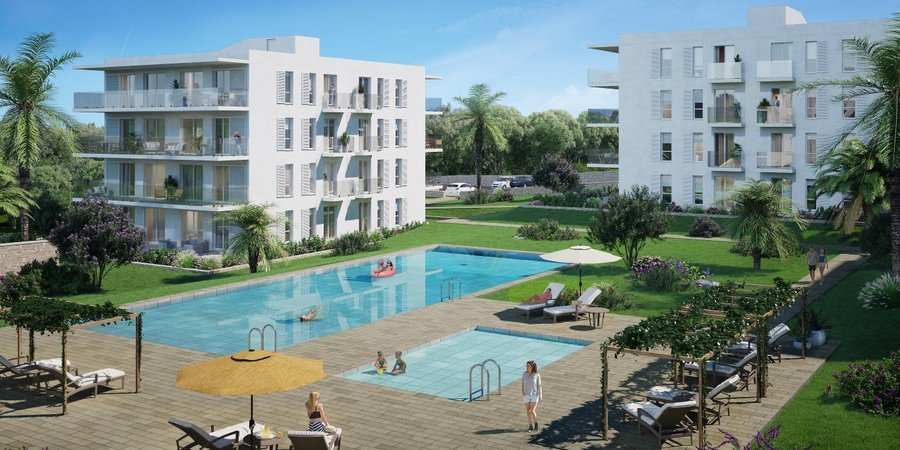 Fantastisches Neubau-Apartment mit zwei Schlafzimmern in Cala d'Or