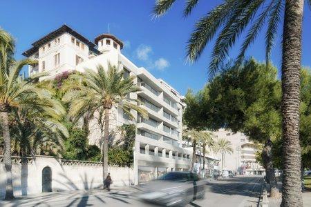 Luxus-Apartment mit Terrasse und atemberaubendem Meerblick in erster Linie des Paseo Maritimo