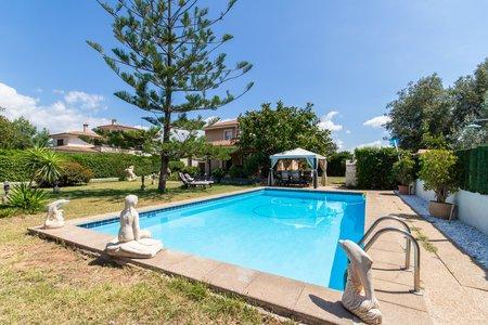 Impresionante chalet con piscina y jardín con licencia vacacional en Marratxi