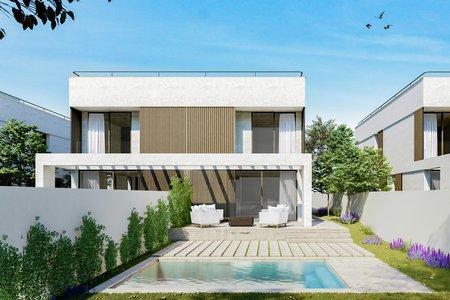 Moderna och tidlösa townhouses med pool och trädgård i Maioris