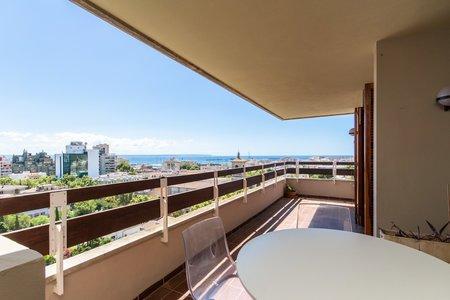 Ático con terraza y vistas a 360 grados en Son Armadams.