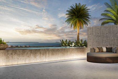Hochwertig designtes Penthouse mit Meerblick in der Nähe von Portixol