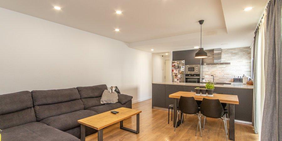 Komfortable und helle Wohnung in vielversprechendem Nou Llevant