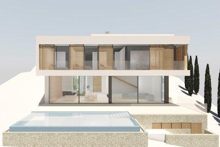Projekt med bygglicens på tomt i den attraktiva övre delen av Son Vida