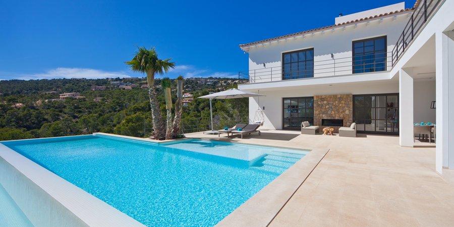 Preciosa villa con impresionantes vistas en Puerto de Andratx