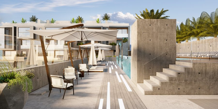 Schöne Zwei-Zimmer-Neubauwohnung im Erdgeschoss in Nou Llevant