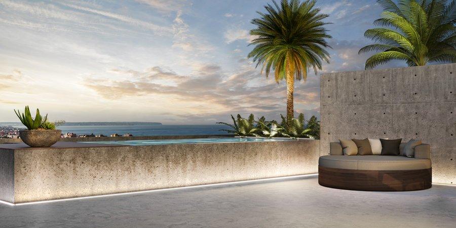 Schöne Drei-Zimmer-Neubauwohnung mit einer großen Terrasse in Nou Llevant