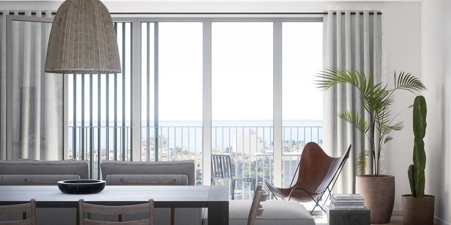 Precioso apartamento con gran vistas desde las terrazas en Nou Llevant
