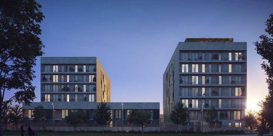 Amplio piso en planta baja con terrazas y piscina comunitaria en Nou Llevant