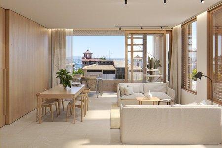 Apartamento de dos dormitorios de nueva construcción en Son Armadams